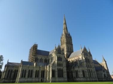 Salisbury Cathedral, at 404ft this is the tallest cathedral tower in the UK!