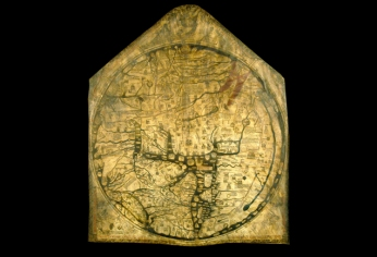 The Hereford Mappa Mundi, 13th century