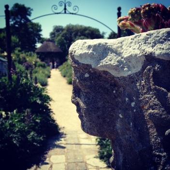The stunning walled garden at West Dean